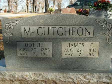 MCCUTCHEON, DOTTIE - Boone County, Arkansas   DOTTIE MCCUTCHEON - Arkansas Gravestone Photos