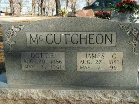 MCCUTCHEON, JAMES CAMPBELL - Boone County, Arkansas | JAMES CAMPBELL MCCUTCHEON - Arkansas Gravestone Photos