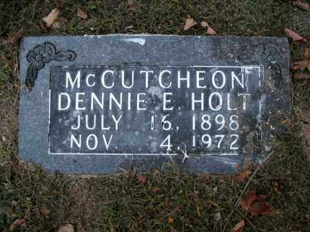 MCCUTCHEON, DENNIE E. - Boone County, Arkansas | DENNIE E. MCCUTCHEON - Arkansas Gravestone Photos