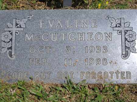 MCCUTCHEON, EVALINE - Boone County, Arkansas | EVALINE MCCUTCHEON - Arkansas Gravestone Photos