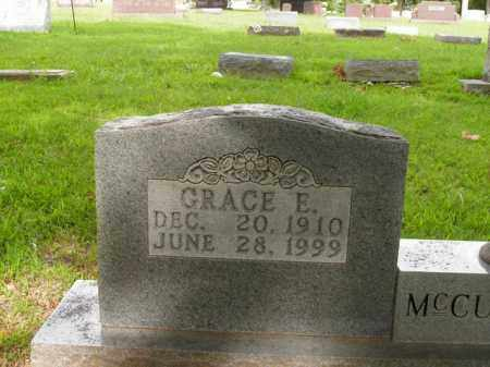 MCCUTCHEON, GRACE E. - Boone County, Arkansas | GRACE E. MCCUTCHEON - Arkansas Gravestone Photos