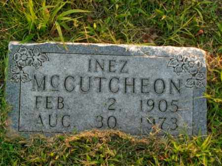 MCCUTCHEON, INEZ - Boone County, Arkansas | INEZ MCCUTCHEON - Arkansas Gravestone Photos