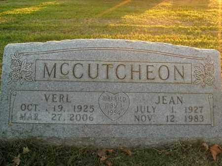 MCCUTCHEON, VERL - Boone County, Arkansas | VERL MCCUTCHEON - Arkansas Gravestone Photos