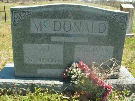 MCDONALD, ADAH - Boone County, Arkansas | ADAH MCDONALD - Arkansas Gravestone Photos