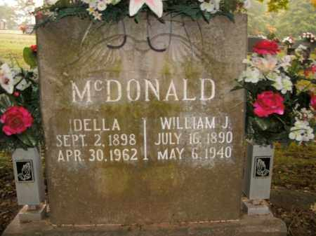 MCDONALD, IDELLA - Boone County, Arkansas | IDELLA MCDONALD - Arkansas Gravestone Photos