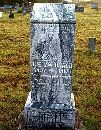 MCDONALD, JOE - Boone County, Arkansas | JOE MCDONALD - Arkansas Gravestone Photos