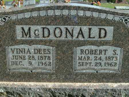 MCDONALD, ROBERT S. - Boone County, Arkansas | ROBERT S. MCDONALD - Arkansas Gravestone Photos