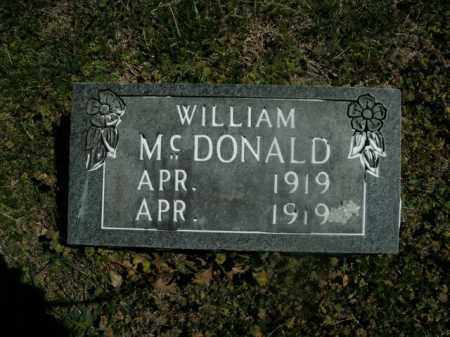 MCDONALD, WILLIAM - Boone County, Arkansas | WILLIAM MCDONALD - Arkansas Gravestone Photos