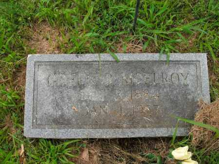 MCELROY, GREEN R. - Boone County, Arkansas   GREEN R. MCELROY - Arkansas Gravestone Photos