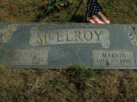 MCELROY, MARVIN - Boone County, Arkansas | MARVIN MCELROY - Arkansas Gravestone Photos
