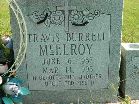 MCELROY, TRAVIS BURRELL - Boone County, Arkansas | TRAVIS BURRELL MCELROY - Arkansas Gravestone Photos