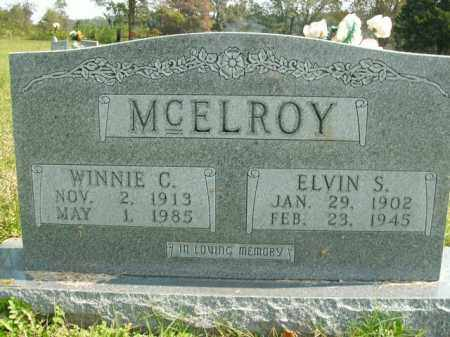 MCELROY, WINNIE C. - Boone County, Arkansas | WINNIE C. MCELROY - Arkansas Gravestone Photos