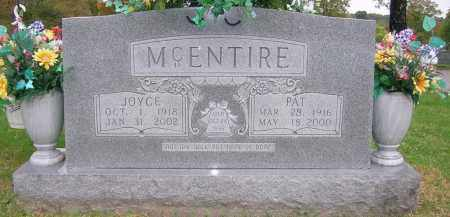 MCCUTCHEN MCENTIRE, JOYCE - Boone County, Arkansas | JOYCE MCCUTCHEN MCENTIRE - Arkansas Gravestone Photos