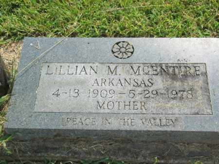 MCENTIRE, LILLIAN M. - Boone County, Arkansas | LILLIAN M. MCENTIRE - Arkansas Gravestone Photos
