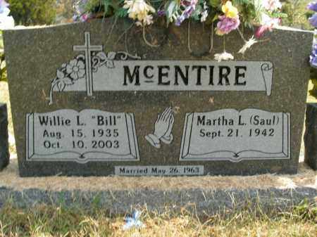 MCENTIRE, WILLIE L. - Boone County, Arkansas | WILLIE L. MCENTIRE - Arkansas Gravestone Photos