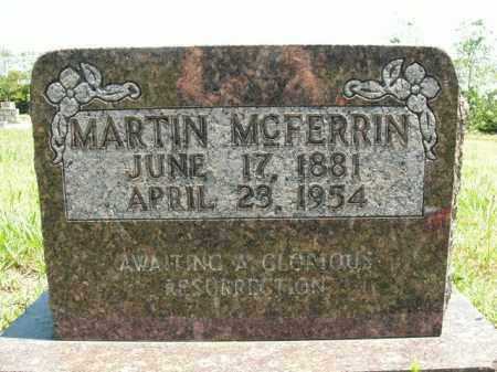 MCFERRIN, MARTIN - Boone County, Arkansas | MARTIN MCFERRIN - Arkansas Gravestone Photos