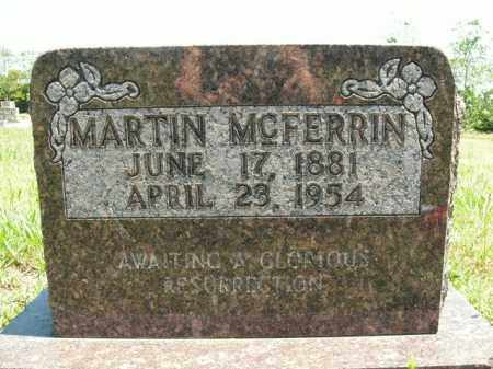 MCFERRIN, MARTIN - Boone County, Arkansas | MARTIN MCFERRIN - Arkansas Gravestone Photos