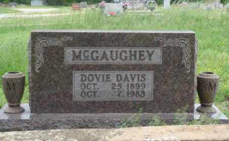 DAVIS MCGAUGHEY, DOVIE - Boone County, Arkansas | DOVIE DAVIS MCGAUGHEY - Arkansas Gravestone Photos