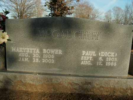 BOWER MCGAUGHEY, MARYETTA - Boone County, Arkansas | MARYETTA BOWER MCGAUGHEY - Arkansas Gravestone Photos