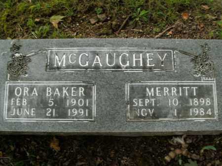 MCGAUGHEY, MERRITT - Boone County, Arkansas | MERRITT MCGAUGHEY - Arkansas Gravestone Photos