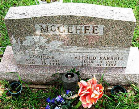 MCGEHEE, ALFRED FARRELL - Boone County, Arkansas | ALFRED FARRELL MCGEHEE - Arkansas Gravestone Photos