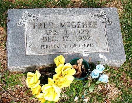 MCGEHEE, FRED - Boone County, Arkansas | FRED MCGEHEE - Arkansas Gravestone Photos