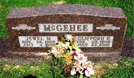 WEAVER MCGEHEE, JEWEL MAE - Boone County, Arkansas | JEWEL MAE WEAVER MCGEHEE - Arkansas Gravestone Photos