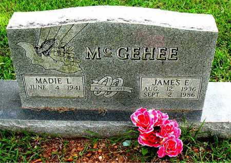 MCGEHEE, JAMES E. - Boone County, Arkansas | JAMES E. MCGEHEE - Arkansas Gravestone Photos
