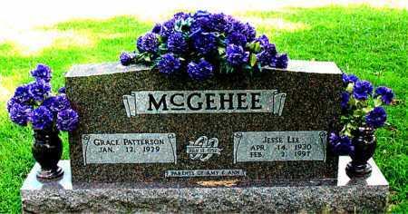 MCGEHEE, JESSE LEE - Boone County, Arkansas | JESSE LEE MCGEHEE - Arkansas Gravestone Photos