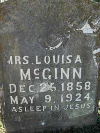 MCGINN, SARAH LOUISA - Boone County, Arkansas | SARAH LOUISA MCGINN - Arkansas Gravestone Photos