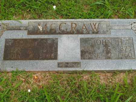 MCGRAW, JOHN H. - Boone County, Arkansas | JOHN H. MCGRAW - Arkansas Gravestone Photos