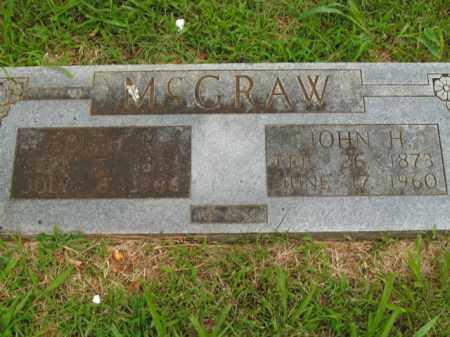 MCGRAW, JOHN HENRY - Boone County, Arkansas | JOHN HENRY MCGRAW - Arkansas Gravestone Photos