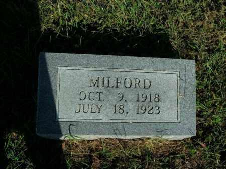 MCGRAW, MILFORD - Boone County, Arkansas   MILFORD MCGRAW - Arkansas Gravestone Photos