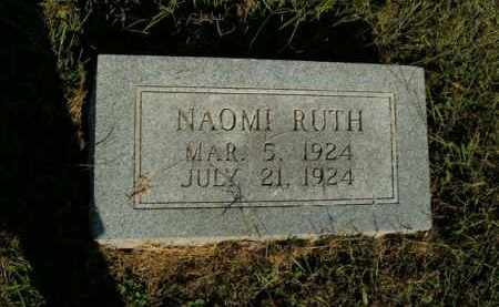 MCGRAW, NAOMI RUTH - Boone County, Arkansas | NAOMI RUTH MCGRAW - Arkansas Gravestone Photos
