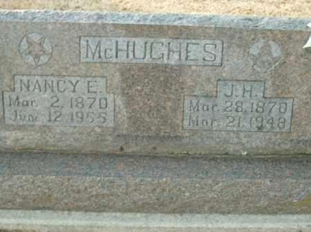 MCHUGHES, NANCY E. - Boone County, Arkansas | NANCY E. MCHUGHES - Arkansas Gravestone Photos