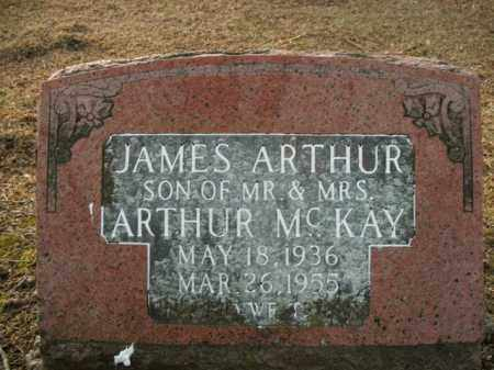 MCKAY, JAMES ARTHUR - Boone County, Arkansas | JAMES ARTHUR MCKAY - Arkansas Gravestone Photos