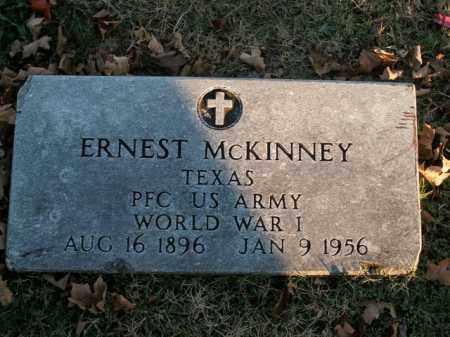 MCKINNEY  (VETERAN WWI), ERNEST - Boone County, Arkansas | ERNEST MCKINNEY  (VETERAN WWI) - Arkansas Gravestone Photos