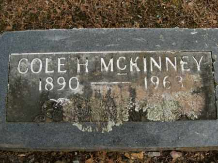 MCKINNEY, COLE H. - Boone County, Arkansas | COLE H. MCKINNEY - Arkansas Gravestone Photos