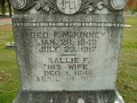 MCKINNEY, GEORGE F. - Boone County, Arkansas | GEORGE F. MCKINNEY - Arkansas Gravestone Photos