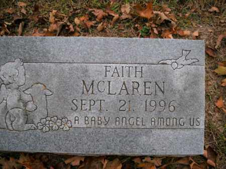MCLAREN, FAITH - Boone County, Arkansas | FAITH MCLAREN - Arkansas Gravestone Photos