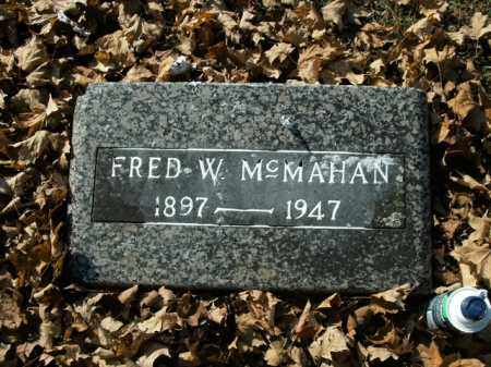 MCMAHAN, FRED W. - Boone County, Arkansas | FRED W. MCMAHAN - Arkansas Gravestone Photos