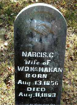 MCMAHAN, NARCIS  C. - Boone County, Arkansas | NARCIS  C. MCMAHAN - Arkansas Gravestone Photos