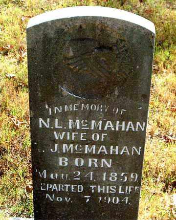 MCMAHAN, N. L. - Boone County, Arkansas | N. L. MCMAHAN - Arkansas Gravestone Photos