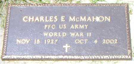 MCMAHON  (VETERAN WWII), CHARLES  E - Boone County, Arkansas | CHARLES  E MCMAHON  (VETERAN WWII) - Arkansas Gravestone Photos