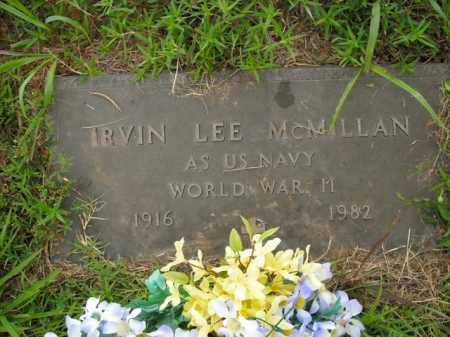 MCMILLAN  (VETERAN WWII), IRVIN LEE - Boone County, Arkansas | IRVIN LEE MCMILLAN  (VETERAN WWII) - Arkansas Gravestone Photos