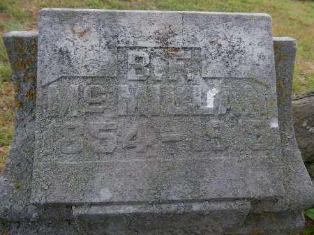 MCMILLAN, BENJAMIN FRANK - Boone County, Arkansas | BENJAMIN FRANK MCMILLAN - Arkansas Gravestone Photos