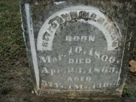 MCMILLAN, JOHN (REV) - Boone County, Arkansas   JOHN (REV) MCMILLAN - Arkansas Gravestone Photos