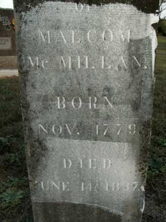MCMILLAN, MALCOM - Boone County, Arkansas | MALCOM MCMILLAN - Arkansas Gravestone Photos