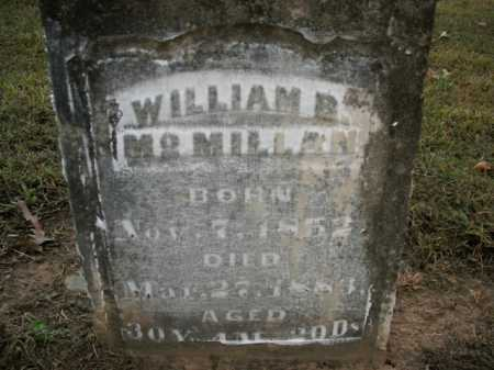MCMILLAN, WILLIAM B. - Boone County, Arkansas | WILLIAM B. MCMILLAN - Arkansas Gravestone Photos