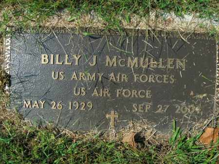 MCMULLEN  (VETERAN), BILLY J - Boone County, Arkansas | BILLY J MCMULLEN  (VETERAN) - Arkansas Gravestone Photos